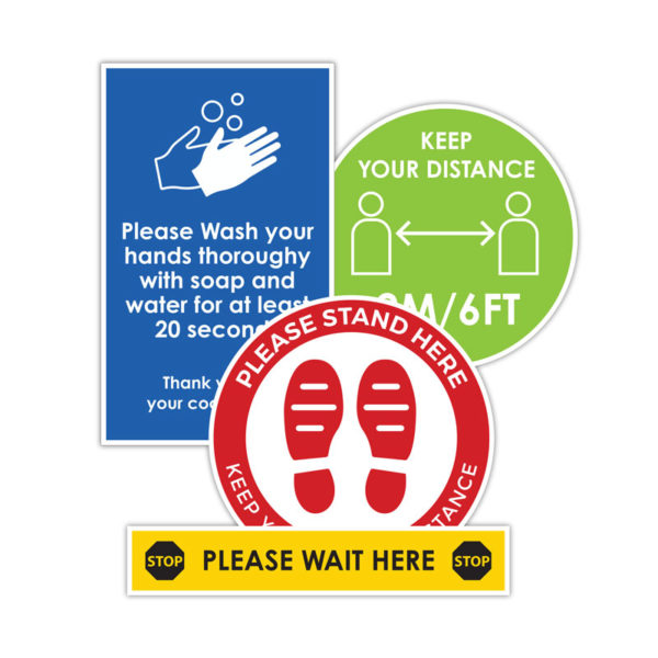 Be Safe PPE Safety Signs and Decals